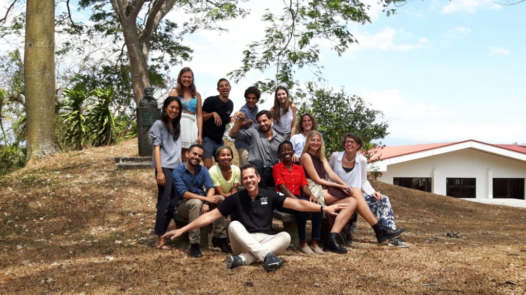 Responsible Management course group photo Costa Rica February 2019